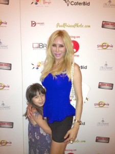 Attending Lifetime's Caterbids TV Show Red Carpet Event With Ava, my lil one.