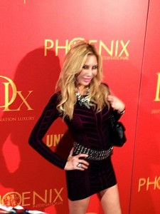 Attending a night of fun for Destination Luxury TV  Event