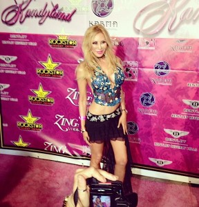 "On the red carpet and attending Kandyland ad Jenny McCarthy's ""Generation Rescue"" Autism event"