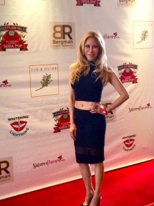Attending Doris Bergman's 2014 Oscar's gifting suite at Fig and Olive
