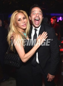 Actors Tess Broussard and Nick Kroll attend Comedy Central's Creative Arts Emmy after party