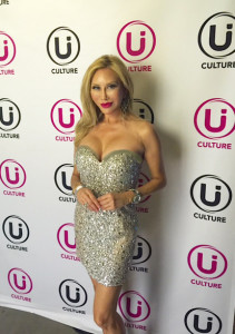 Tess Broussard on the red carpet at the Ui Culture Music App Event  in Hollywood- TCLChineseTheater