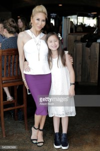 Ava and Tess Broussard attending an E! Network Event