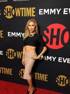 Tess Broussard attends 2016 Emmy Eve Event