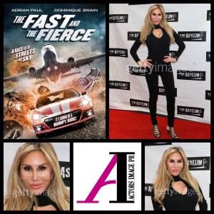 "Tess Broussard attends the film premiere of ""the Fast and the Furious"""